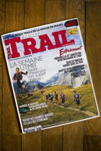 parution dans le magazine Esprit Trail de Octobre-Novembre 2018